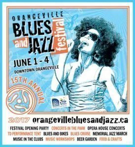 Downtown Orangeville - Blues & Jazz