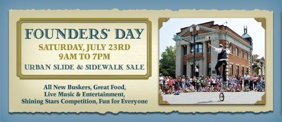 Founders Day - Downtown Orangeville -2016