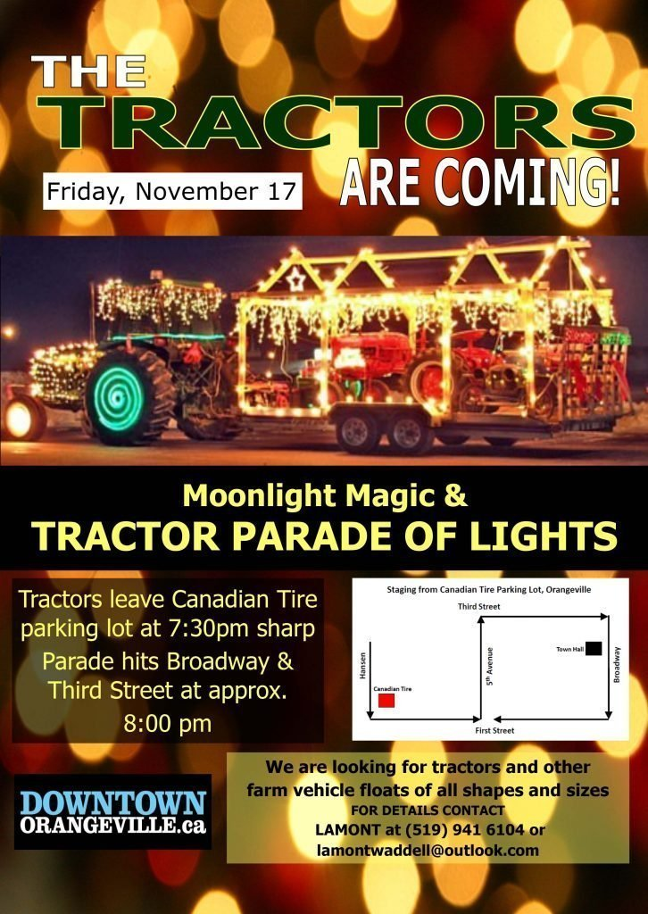 Tractors Parade of Lights