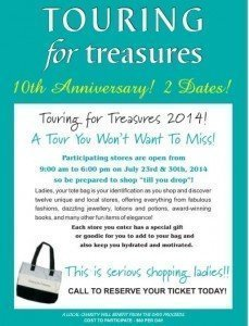 Touring for treasures