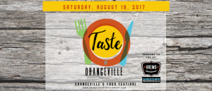 Taste of Orangeville – August 19th