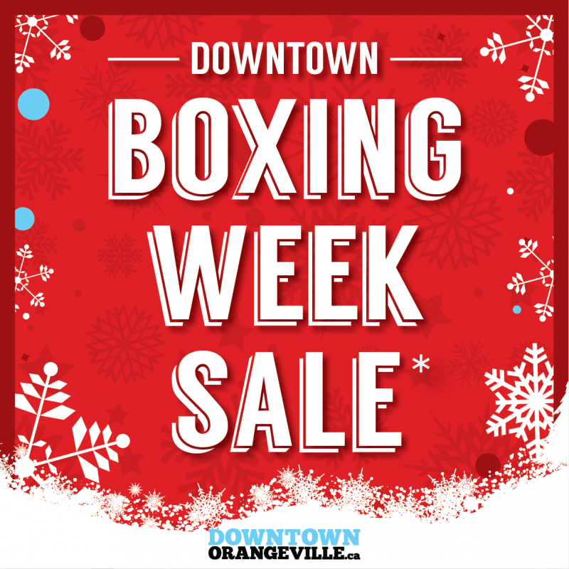 Downtown Boxing Week Sale