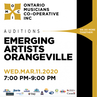 Emerging Artists Orangeville