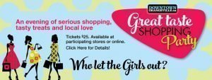 Shop Great Taste – Downtown Orangeville – May 14 2016