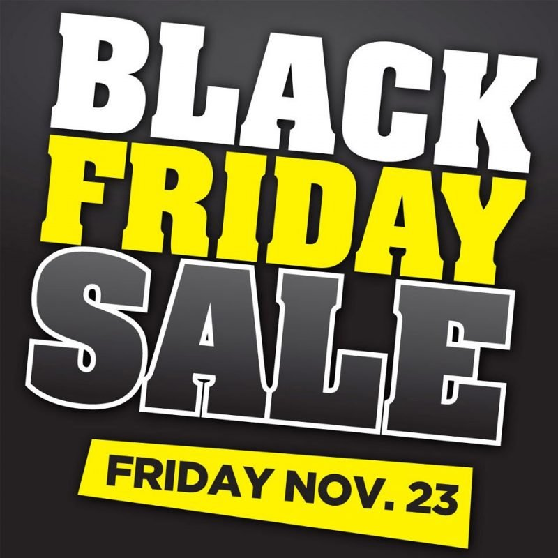 The Black Friday – Downtown Orangeville – 2018
