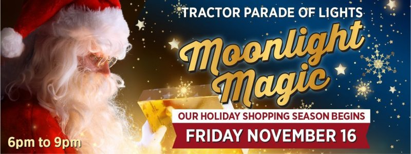 Moonlight Magic Tractor Parade of Lights – 2018
