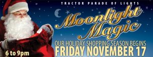 MOONLIGHT MAGIC & THE TRACTOR PARADE OF LIGHTS -2017
