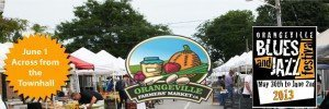 Orangeville Farmers' Market – Blues and Jazz