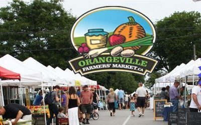 Opening Day of Orangeville Farmers' Market