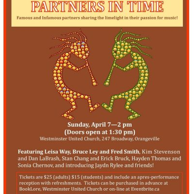"The Sounds of Westminster presents ""Partners In Time"""