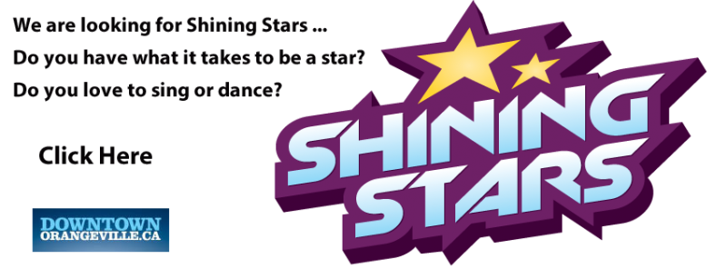 We are looking for Shinning Stars