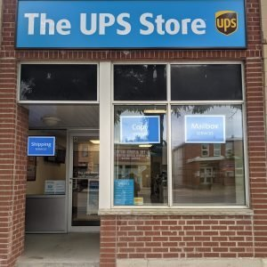 UPS Store Front