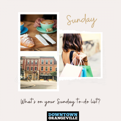 Come Shop with us on Sundays!