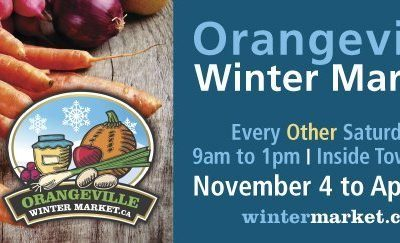 ORANGEVILLE WINTER FARMERS' MARKET – 2017