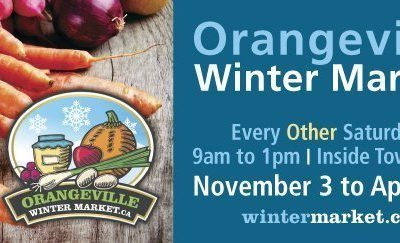 Orangeville Winter Farmers' Market -2018 -2019