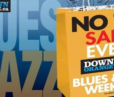 NO TAX Event – Downtown Orangeville – Blues & Jazz