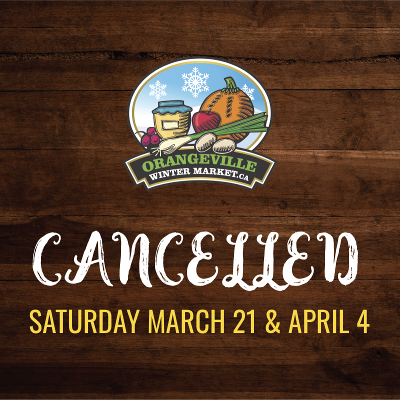 COVID-19: Farmers' Market Cancelled