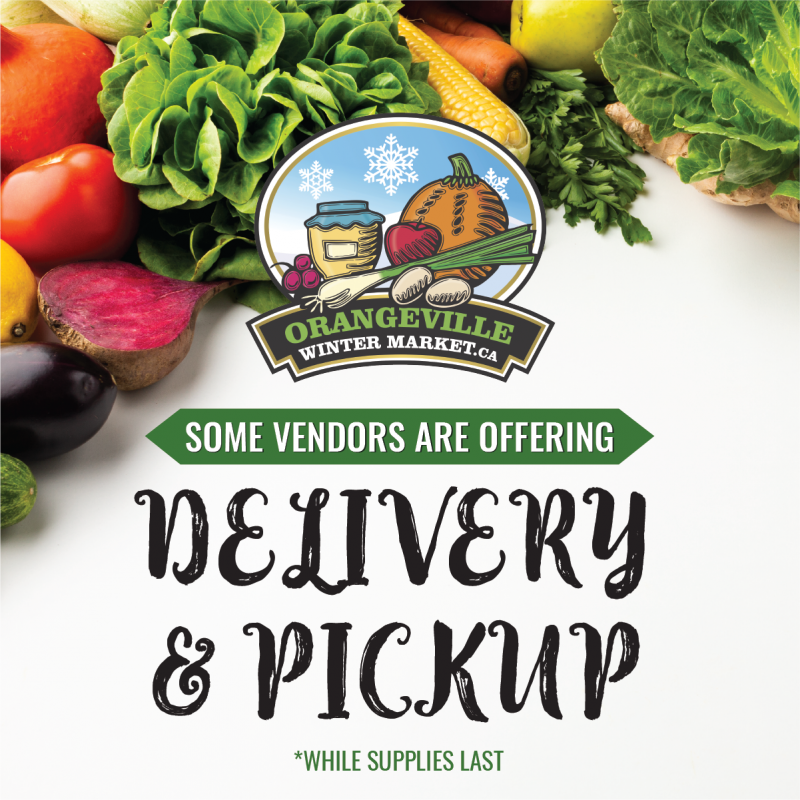 Some vendors are offering delivery & pick up options