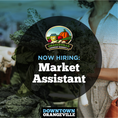 Now Hiring: Market Assistant
