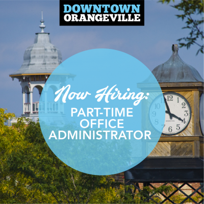 NOW HIRING: Part-time Office Administrator