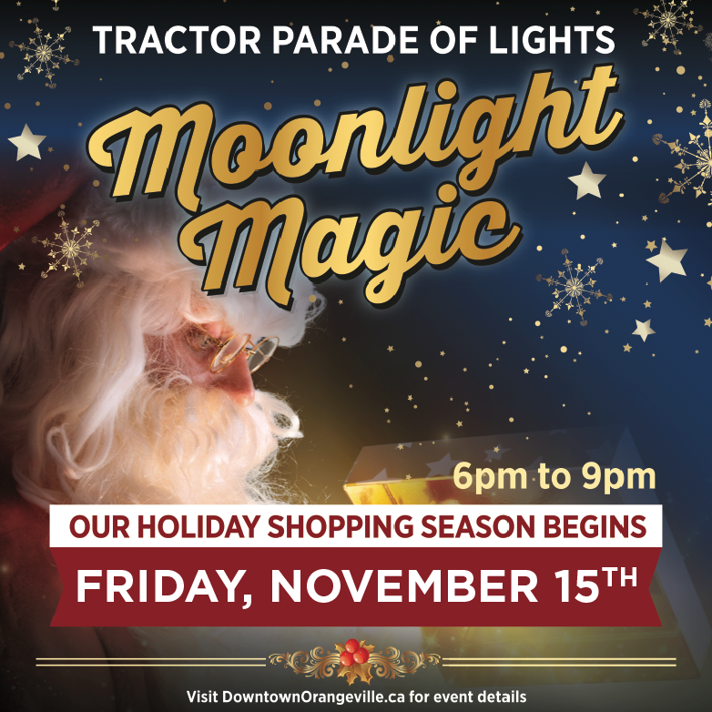 Moonlight Magic and Tractor Parade of Lights