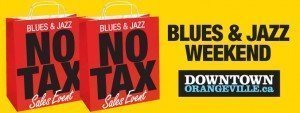 Blue & Jazz No Tax Event