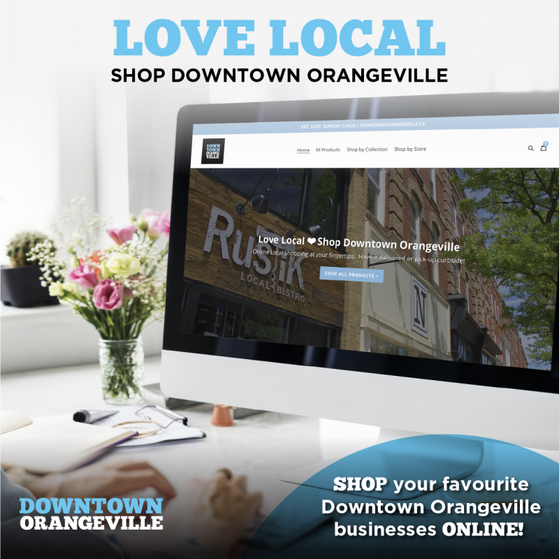 Shop Downtown Orangeville