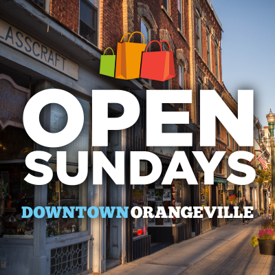 Now Open Sundays!