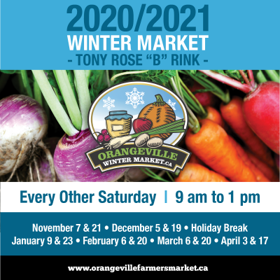 2020/2021 Winter Farmers' Market
